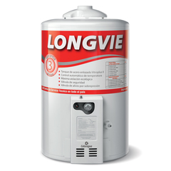 Termotanque a gas Longvie T3050PF 50 Lts. Pie