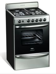 Cocina Multigas Longvie 18501X 4 Hornallas 56cm Acero Inoxidable