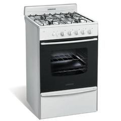 Cocina Multigas Longvie 13331B 4 Hornallas 56 cm Blanco