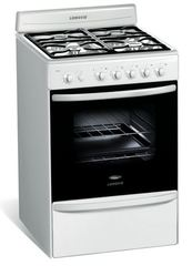 Cocina Multigas Longvie 18501B 4 Hornallas 56 cm Blanco
